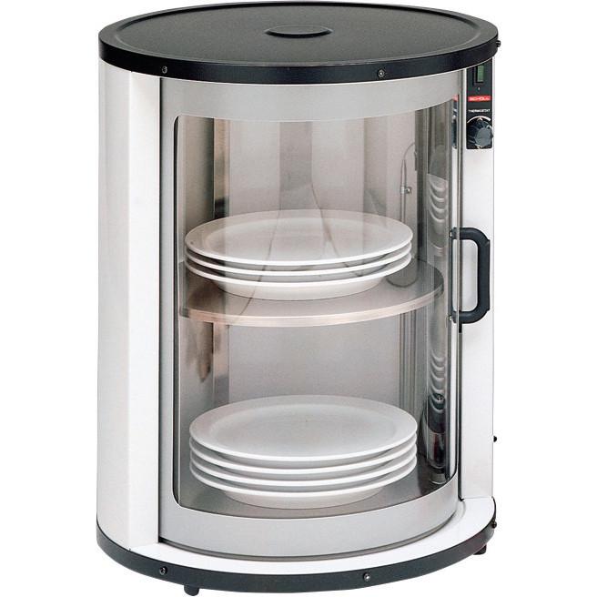 Tellerwärmer für 30 - 40 Teller / Innenmaß ø 330 x 450 mm