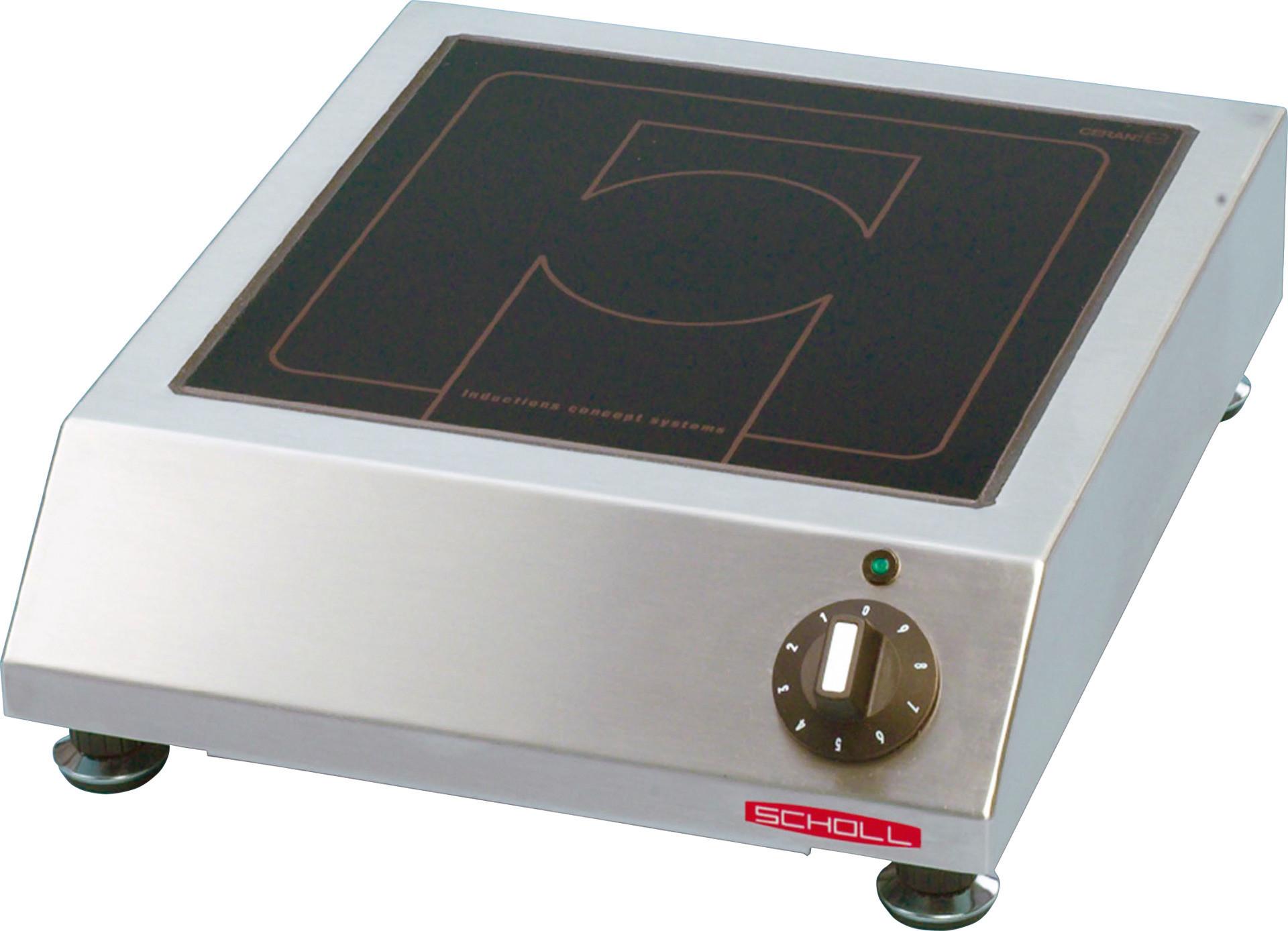 Induktions-Kochfeld 1 Heizzone / Feld 260 x 260 mm / Auftischgerät