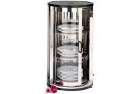 Tellerwärmer für 45 - 60 Teller / Innenmaß ø 330 x 680 mm