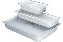 Porzellan-Behälter Induktherm GN 1/1 / 8,00 l / 530 x 325 x 65 mm