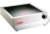 Induktions-Tischgerät 1 Heizzone / 3,50 kW / Feld 320 x 320 mm / Auftischgerät
