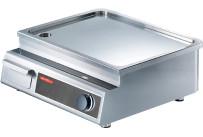 Induktions-Griddleplatte glatt / 1 Heizzone / 5,00 kW / 531 x 493 x 356 mm