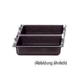 GN-Alu-Guss-Behälter GN 1/2 ohne Griffe / 325 x 265 x 55 mm