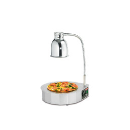Pizza-Rondo-Warmhaltestation 0,65 kW / 230 V / 400 x 400 x 580 mm / Tischgerät