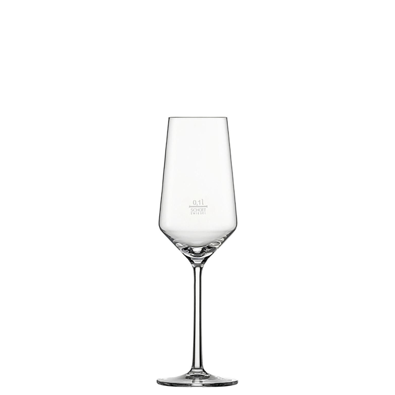 Pure, Champagnerglas ø 72 mm / 0,30 l 0,10 /-/ mit Moussierpunkt