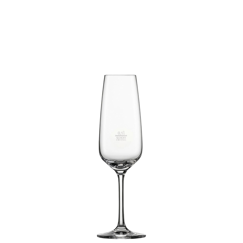 Taste, Sekt- / Champagnerglas ø 70 mm / 0,28 l 0,10 /-/ mit Moussierpunkt
