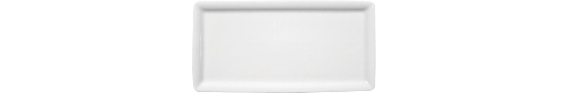 Buffet Gourmet, Platte rechteckig 200 x 100 mm