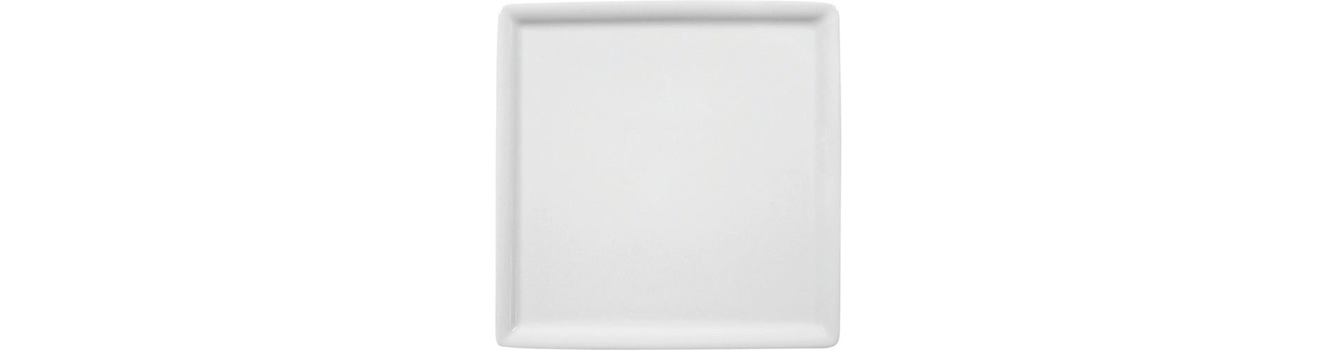 Buffet Gourmet, Platte quadratisch 160 x 160 mm