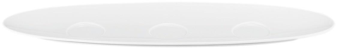 Coup Fine Dining, Setplatte 444 x 143 mm weiß uni