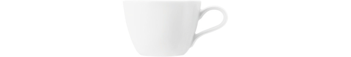 Coup Fine Dining, Cappuccinotasse 122 mm / 0,22 l weiß uni