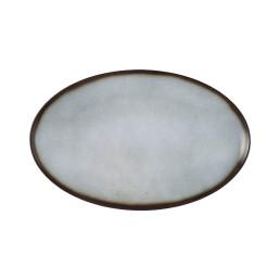 Fantastic, Coupplatte oval 407 x 259 mm grau