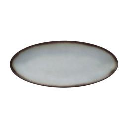 Fantastic, Coupplatte oval 435 x 188 mm grau