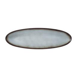 Fantastic, Coupplatte oval 444 x 143 mm grau (M5379)