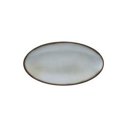 Fantastic, Coupplatte oval 328 x 180 mm grau