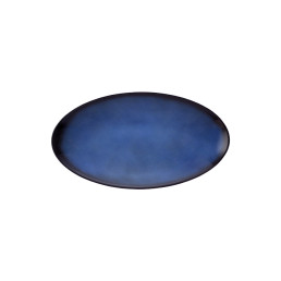 Fantastic, Coupplatte oval 328 x 180 mm royalblau