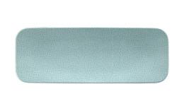 Fashion, Coupplatte rechteckig 385 x 142 mm türkis