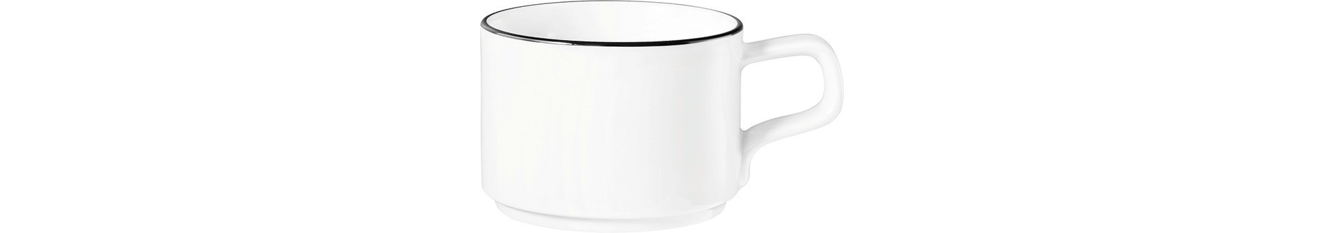 Good Mood Black Line, Kaffeetasse ø 78 mm / 0,19 l