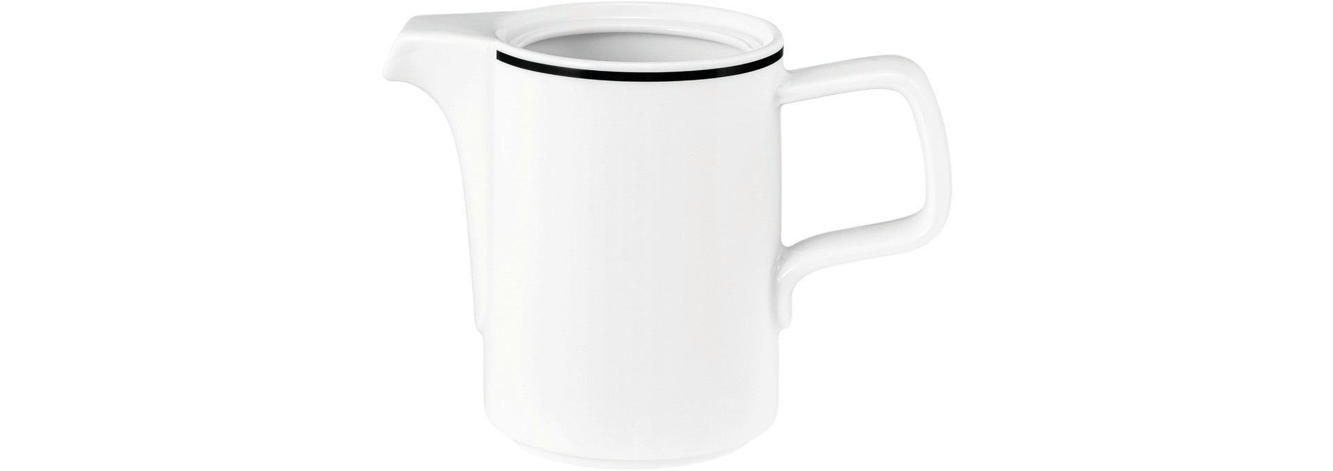 """Good Mood Black Line, Unterteil zur Kaffeekanne """"1""""  ø 86 mm"""