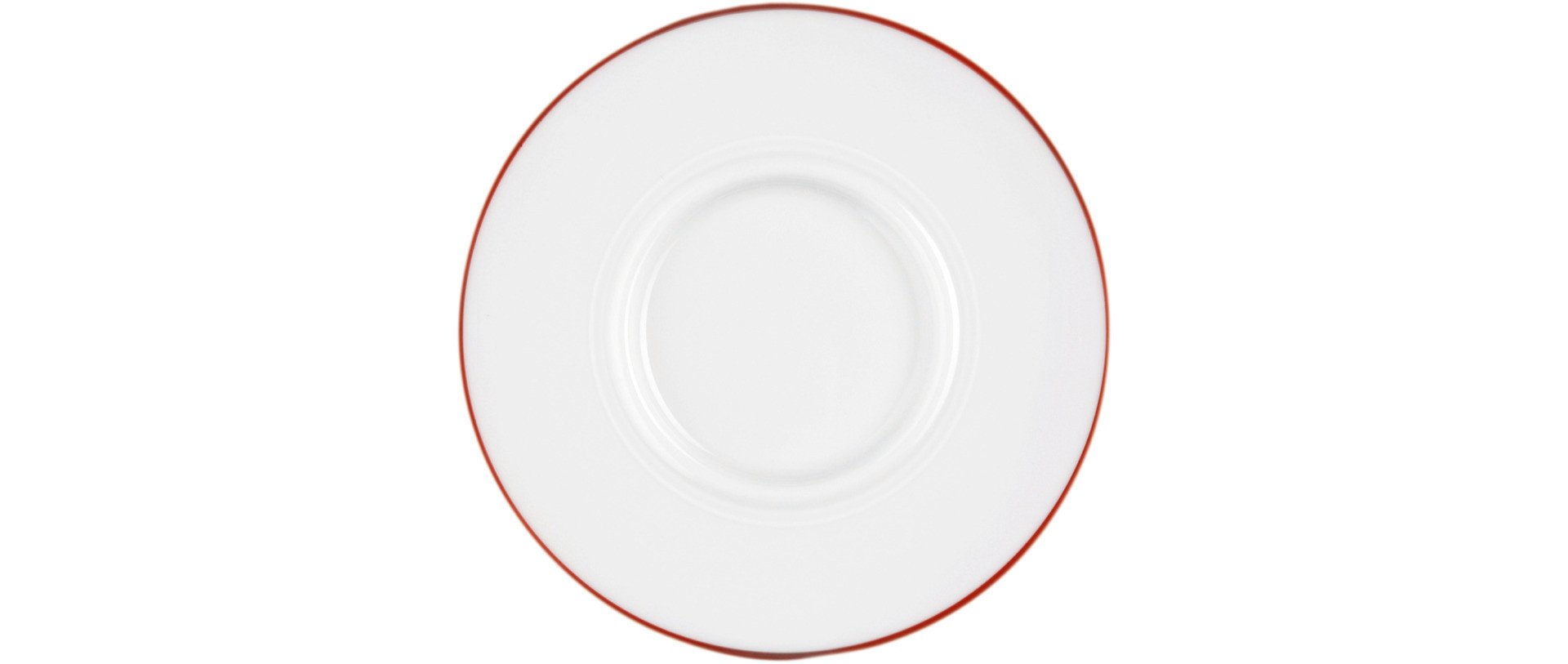 Vitalis, Untertasse 162 x 156 mm rote Linie