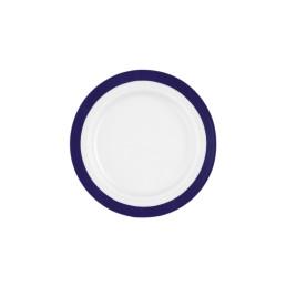 Vitalis, Teller flach ø 200 mm / 0,16 l blaues Band