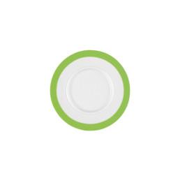 Vitalis, Suppen-Untertasse 175 x 160 mm grünes Band