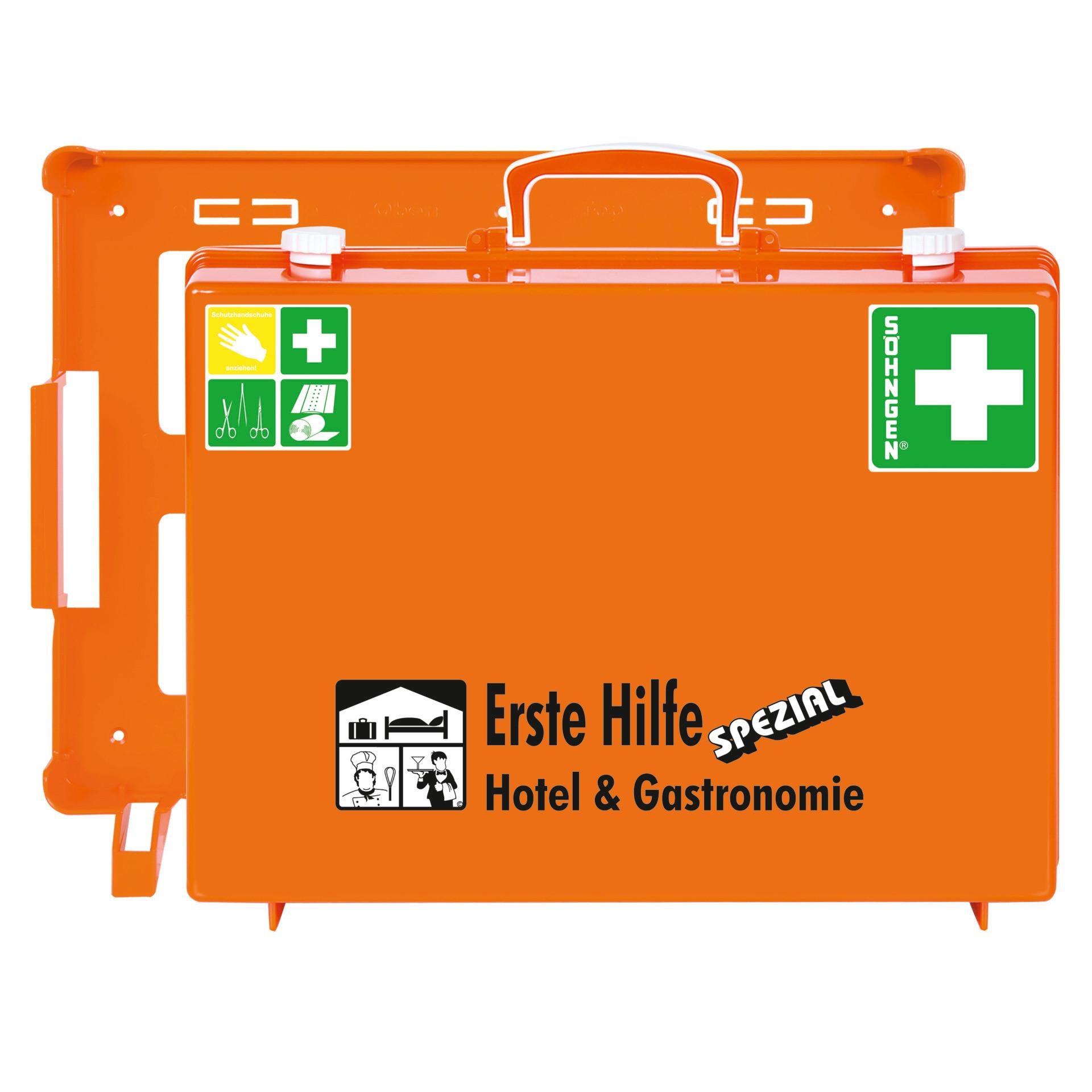 """Erste Hilfe Koffer SPEZIAL """"Hotel & Gastronomie"""" nach DIN-Norm"""