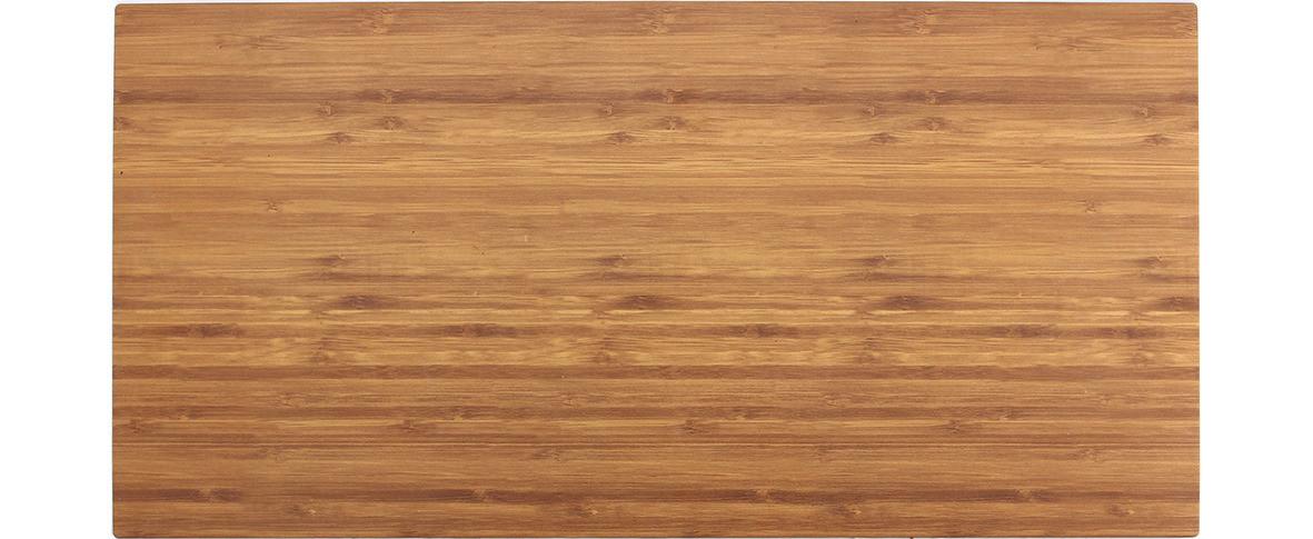 Melamine Bamboo, Platte rechteckig 508 x 254 mm Holzoptik