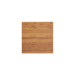 Melamine Bamboo, Platte quadratisch 254 x 254 mm Holzoptik