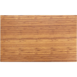 Melamine Bamboo, Platte rechteckig 610 x 381 mm Holzoptik