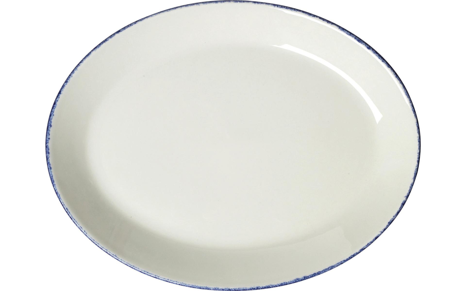 Blue Dapple, Coupplatte oval 280 mm