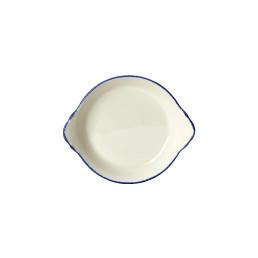 Blue Dapple, Form rund mit Griffen ø 165 mm / 0,19 l