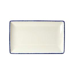 Blue Dapple, Platte rechteckig 270 x 168 mm