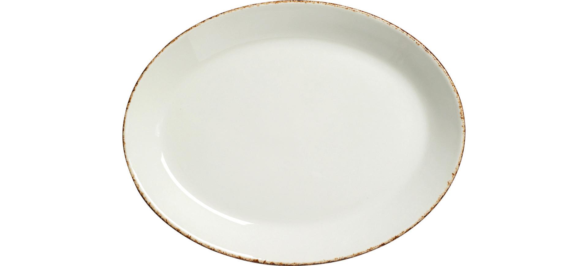 Brown Dapple, Coupplatte oval 203 mm