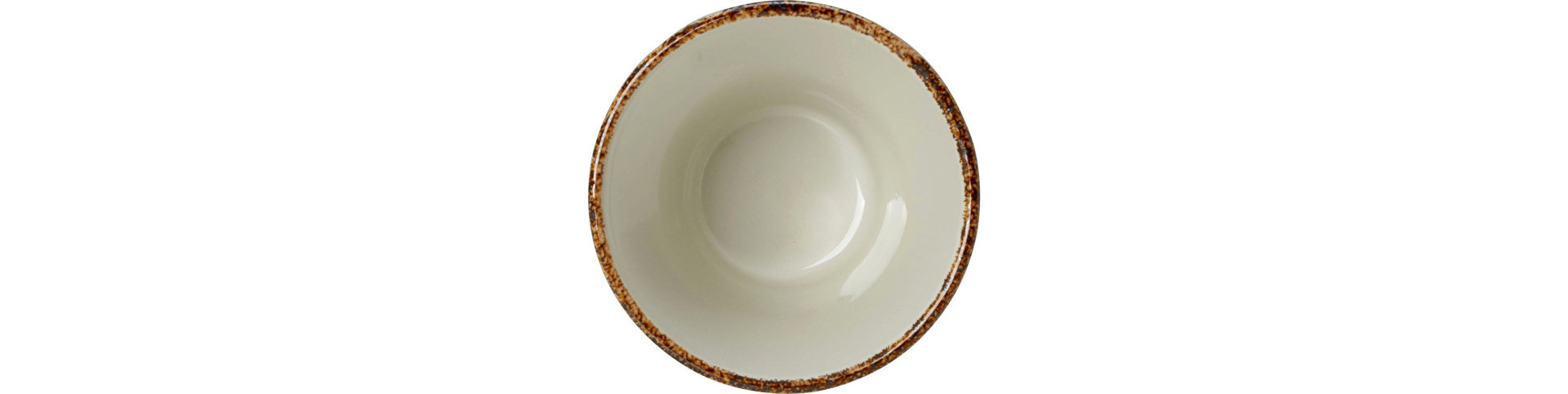 Brown Dapple, Bowl stapelbar ø 90 mm / 0,23 l