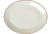 Brown Dapple, Coupplatte oval 343 mm