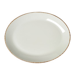 Brown Dapple, Coupplatte oval 305 mm
