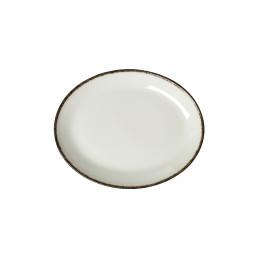 Charcoal Dapple, Coupplatte oval 202 mm
