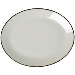 Charcoal Dapple, Coupplatte oval 342 mm