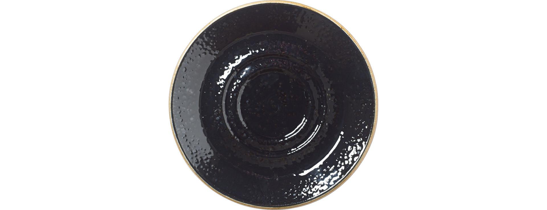 Craft Liquorice, Kombi-Untertasse ø 145 mm