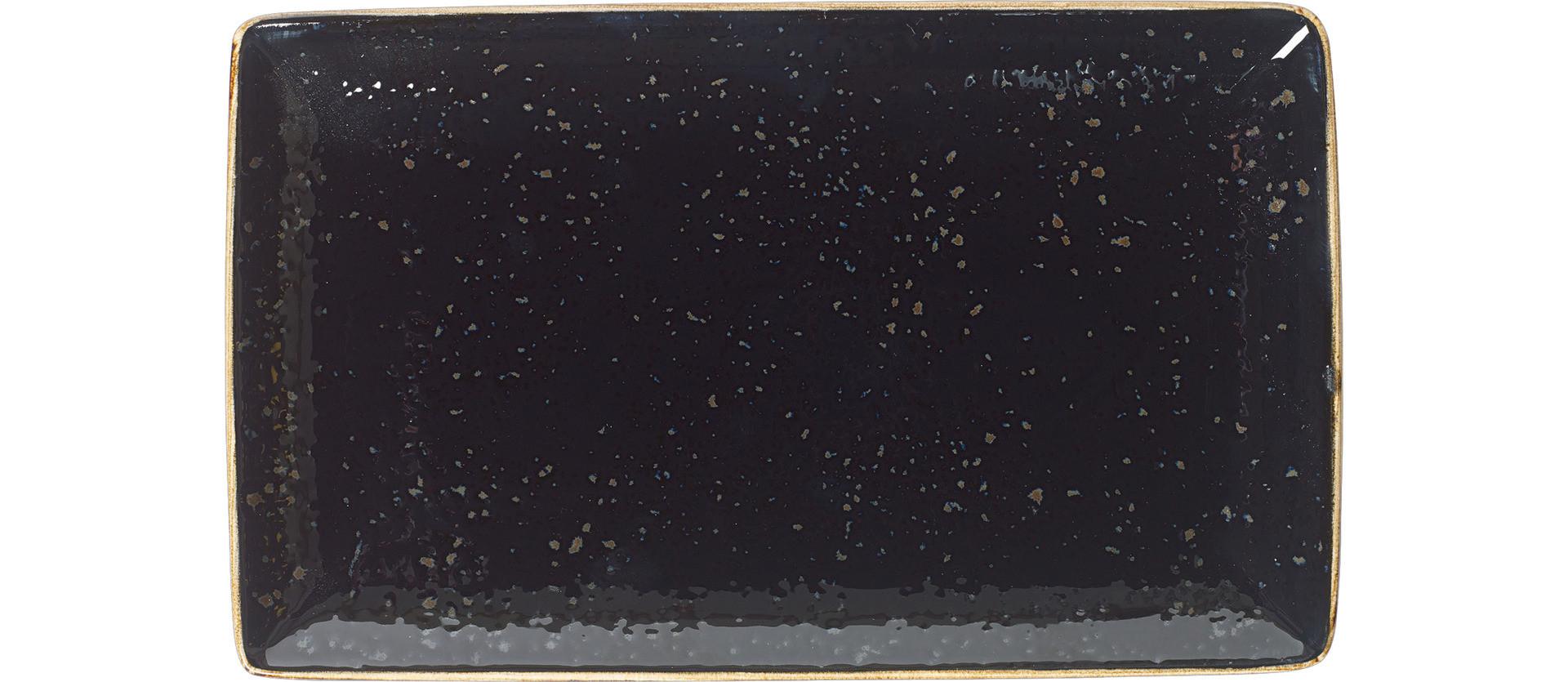 Craft Liquorice, Platte rechteckig 270 x 168 mm