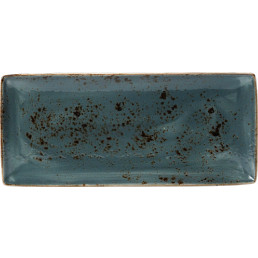 Craft, Platte rechteckig 370 x 165 mm blau