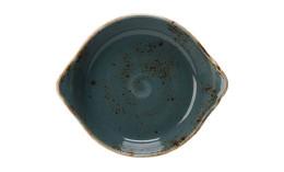 Craft Blue, Form rund mit Griffen ø 190 mm / 0,54 l