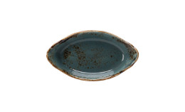 Craft, Form oval mit Griffen 200 x 110 mm / 0,19 l blau