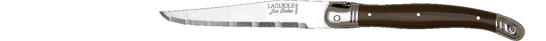 Laguiole Knives, Steakmesser Kunststoffgriff Pepper geriffelte Schneide