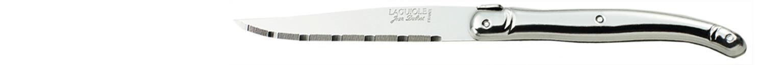 Laguiole Knives, Steakmesser Griff silber