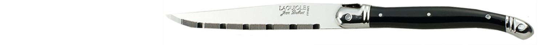 Laguiole Knives, Steakmesser Griff schwarz