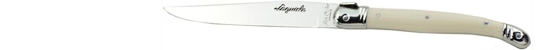 Laguiole Knives, Steakmesser Griff elfenbeinfarbig