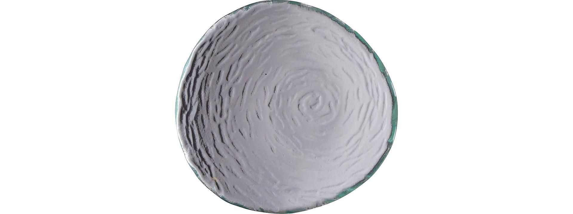 Scape Glass, Platte rund ø 140 mm glasklar