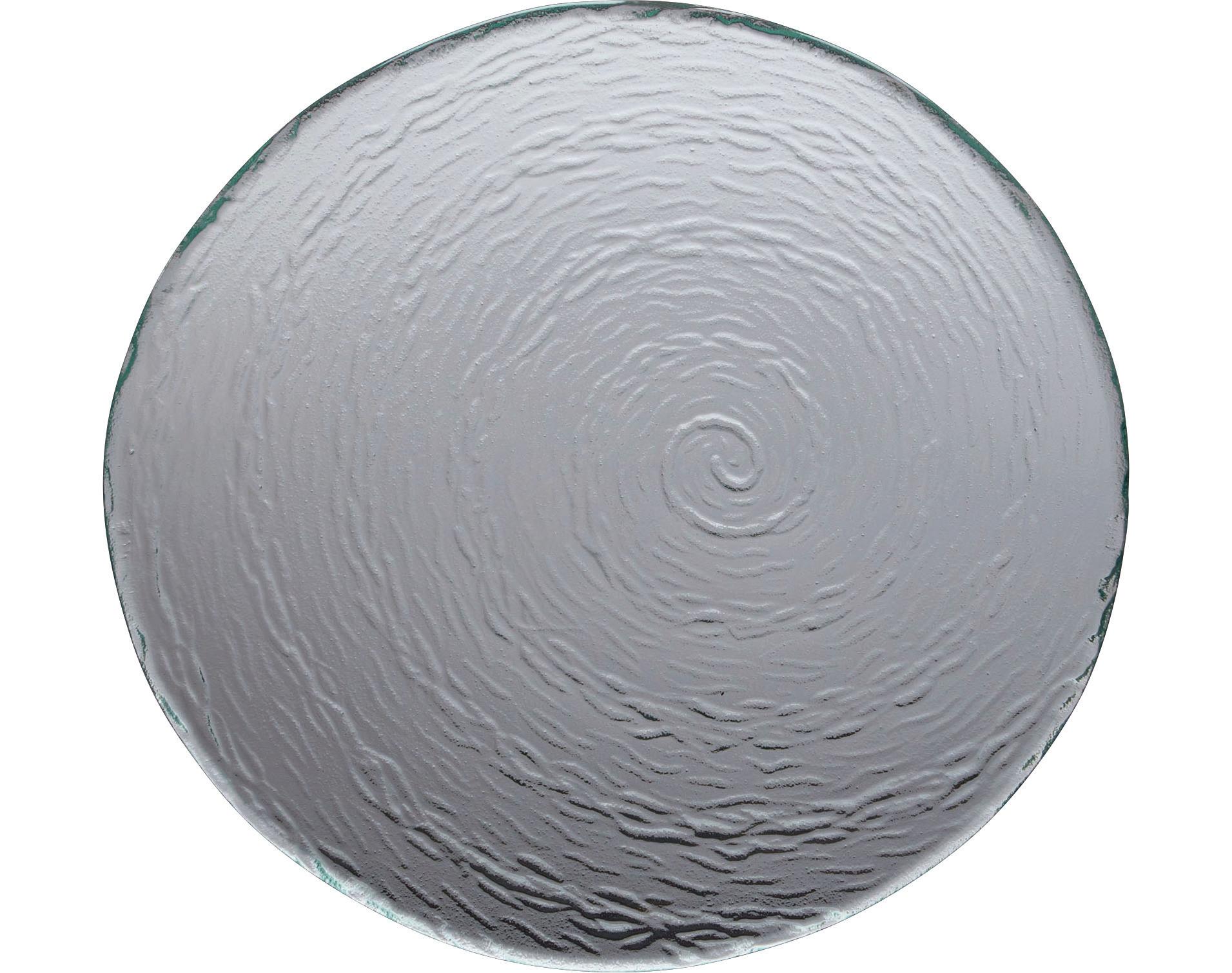 Scape Glass, Platte rund ø 300 mm glasklar