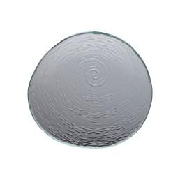Scape Glass, Platte rund ø 250 mm glasklar
